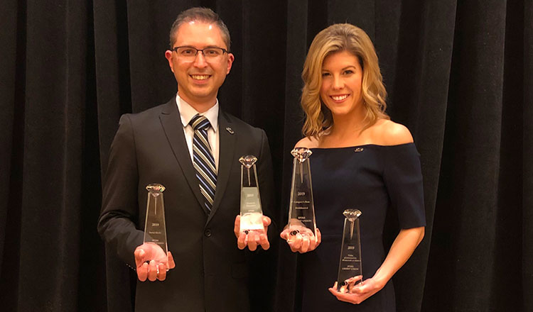 SPIRE Receives Four National Marketing Awards