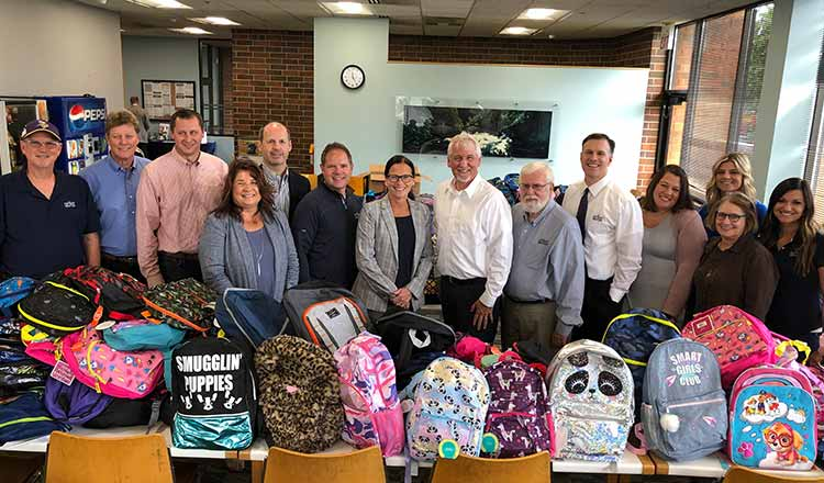 SPIRE and Family Pathways Partner on Backpack Initiative