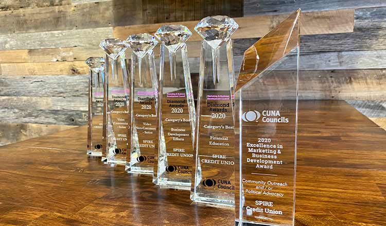 SPIRE Wins Six National Marketing Awards
