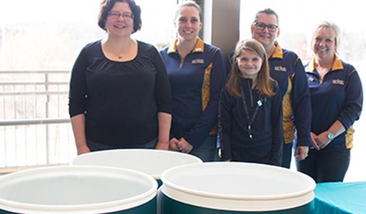 SPIRE Food Drive Collects 1,400 Meals