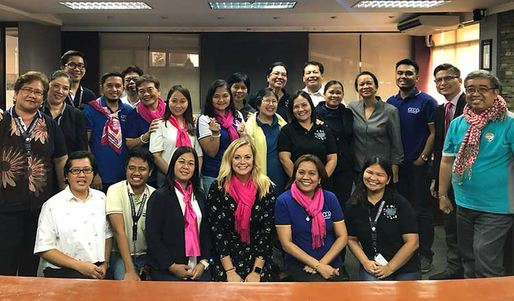 Reiling Collaborates with Co-ops in Philippines