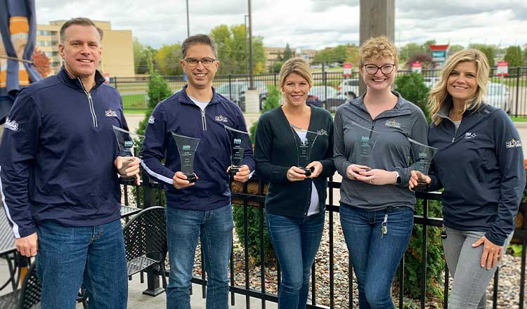 SPIRE Receives Six National Marketing Awards