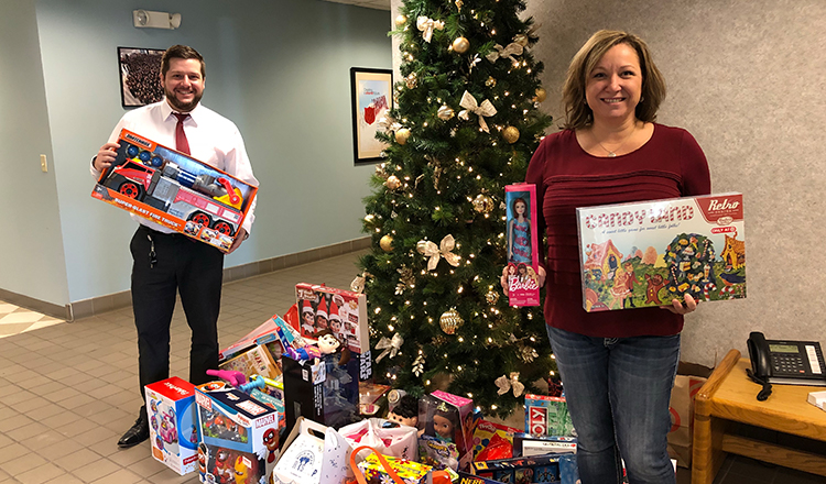 SPIRE Toy Drive Reaches Children Throughout Minnesota