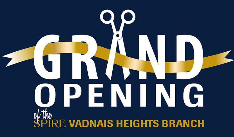 SPIRE Vadnais Heights Grand Opening December 17