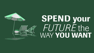 Spend your future the way you want