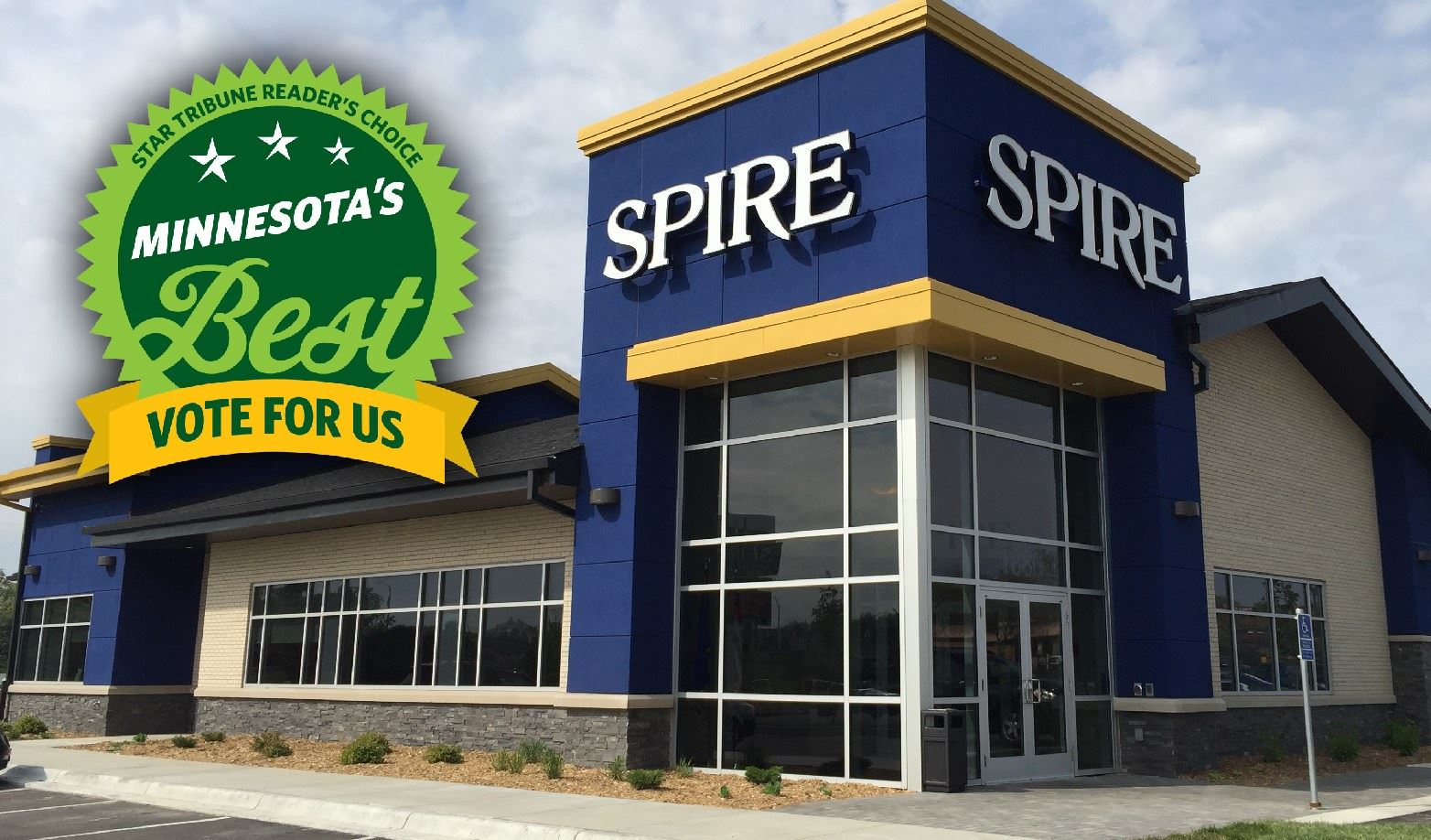 Vote SPIRE as Minnesota's Best!